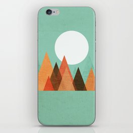 From the edge of the mountains iPhone Skin