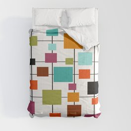 Mid-Century Modern Art 1.3.1 Comforters
