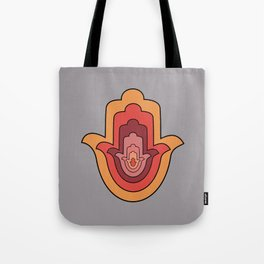 Protection Hand - Hamsa Hand Tote Bag