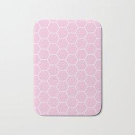 Honeycomb Light Pink #326 Bath Mat