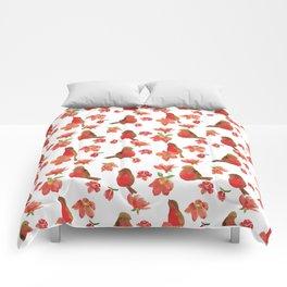 Hello Robin - White Version Comforters
