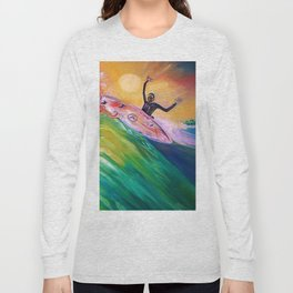 deep_water art Long Sleeve T-shirt