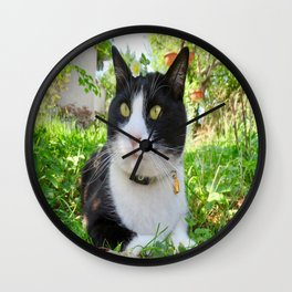 Orazio in the nature Wall Clock