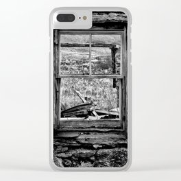 Window with a view Clear iPhone Case