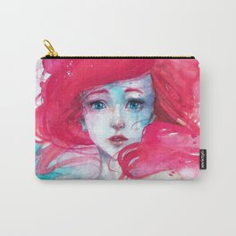 Princess Ariel - Little Mermaid has no tears Carry-All Pouch