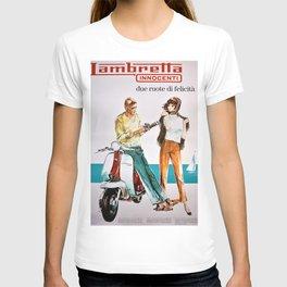 1963 Lambretta Innocenti Motor Scooter Advertisement Poster T-shirt