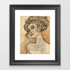 The Iron Woman 5 Framed Art Print