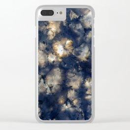 Dark Storms II Clear iPhone Case
