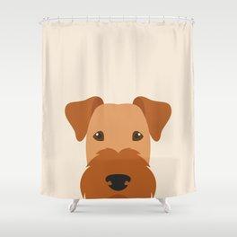 Irish Terrier Dog Shower Curtain