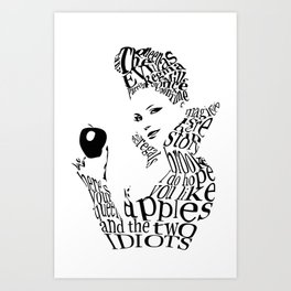 The Evil Queen Art Print