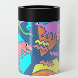 Nineties Dinosaur Pattern Can Cooler