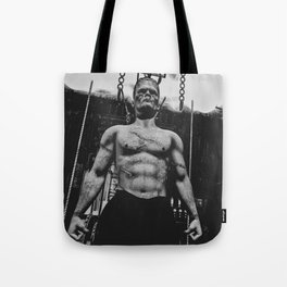 It's Alive Frankenstein Tote Bag