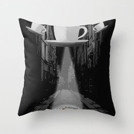 Mr. Coffee Bean Throw Pillow
