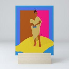 I Pull Up with a Lemon Mini Art Print