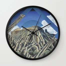 Mount Garfield Polyscape Wall Clock
