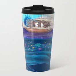 Sleeping Creativity (commission) Metal Travel Mug