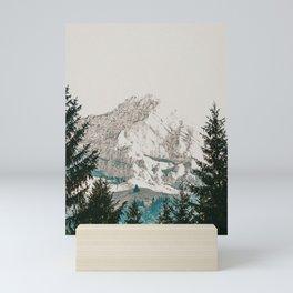 Winter Mountain II Mini Art Print