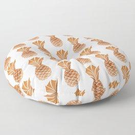 Copper Pineapple Pattern Floor Pillow