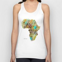africa Tank Tops featuring Africa by bri.buckley