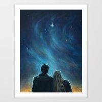 The Morning Star Art Print