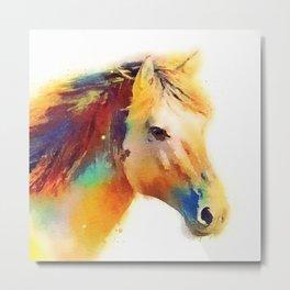 The Spirited - Horse Metal Print