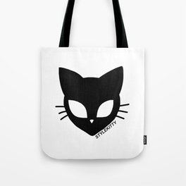 Alien Cat Tote Bag