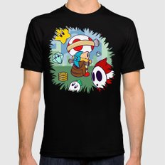 Treasure Tracked: Captain Toad's Fortune (Alt Version: No Text) MEDIUM Black Mens Fitted Tee