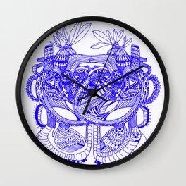 Vegetal Human Anatomy  Wall Clock