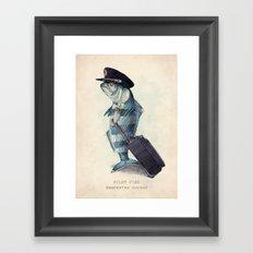 The Pilot Framed Art Print