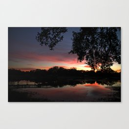 Serenity Sunset Canvas Print