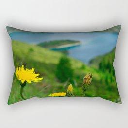 Fogo crater Rectangular Pillow
