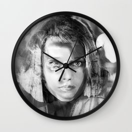 Jane Mix 4 Wall Clock