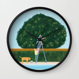 Lovely Afternoon Wall Clock