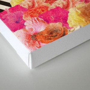 Floraline Canvas Print