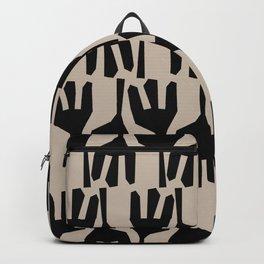 Tribe Black Backpack