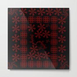 Diatom (Red series #4) Metal Print