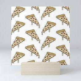 Pizza Slices Mini Art Print