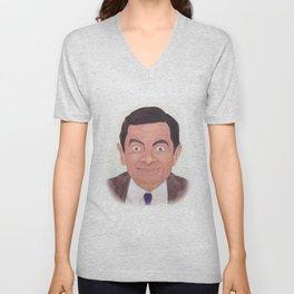 Mr. Bean Unisex V-Neck