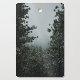 Backwoods Winter: Ponderosa Pines, Washington Cutting Board