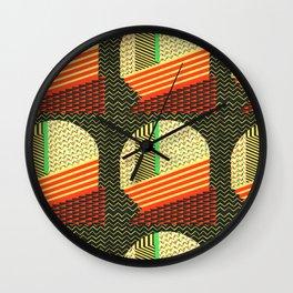 Helmet by Jungi Hong Wall Clock