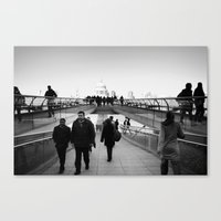 millenium falcon Canvas Prints featuring Millenium by akarlsen