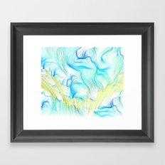 Seaweed Memory I Framed Art Print