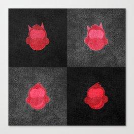 Devil Dirtbag Monkeys Canvas Print