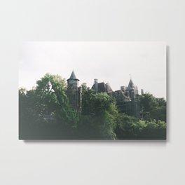 Boldt Castle Metal Print