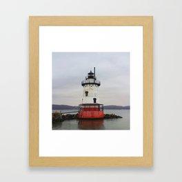 Sleepy Hollow Lighthouse Framed Art Print