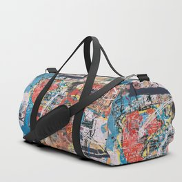 World Mapsqiuat Duffle Bag