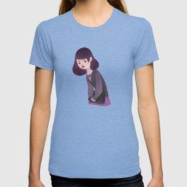 Japanese Schoolgirl Doodle T-shirt