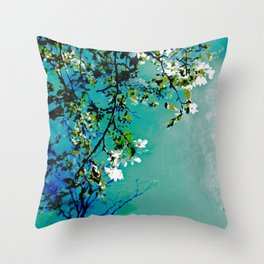 Spring Synthesis IV Throw Pillow