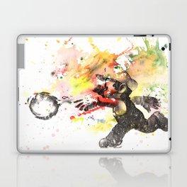 Mario Throwing Fireball Laptop & iPad Skin