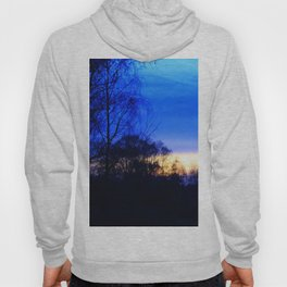 Cold Winter Sunset Hoody